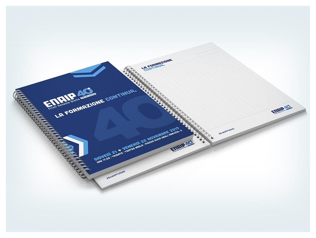 ENAIP FVG 40 quaderni