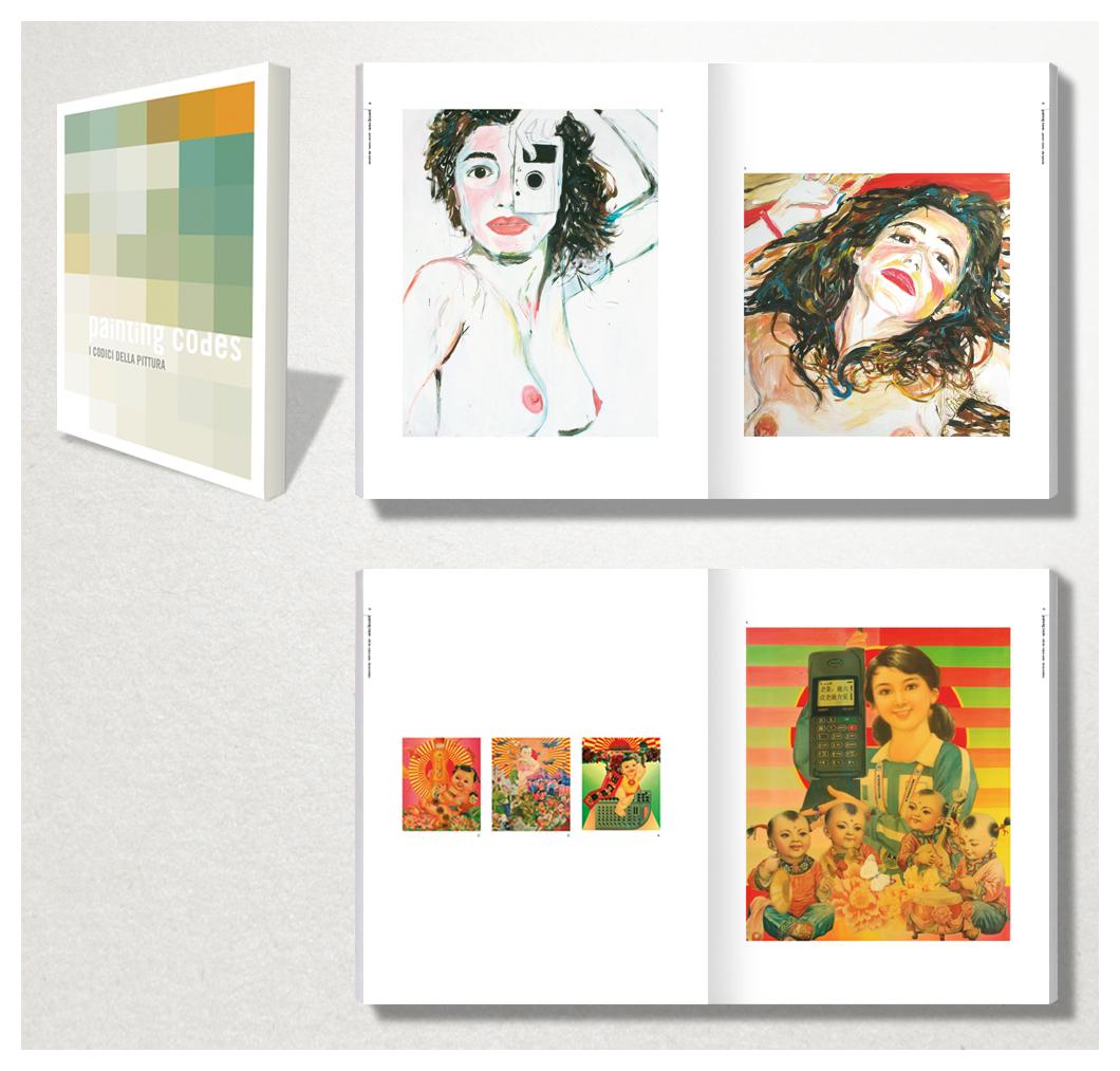 Galleria Comunale d'Arte Contemporanea di Monfalcone: un lustro di arte contemporanea - Painting codes