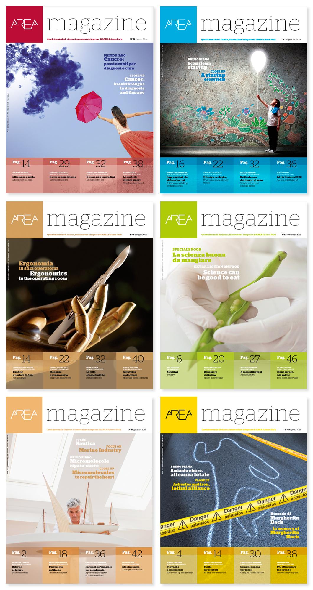 AREA Science Park Magazine