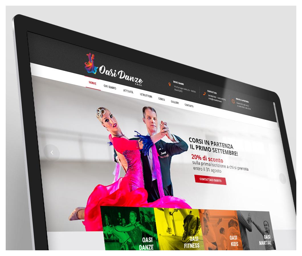 Oasi danze - Sito web