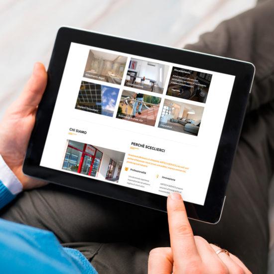AirTech Service - Sito web